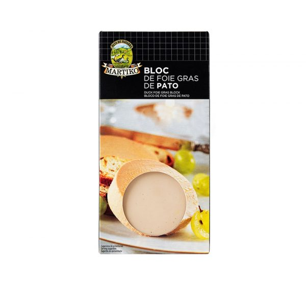 BLOC DE FOIE GRAS DE PATO 80 M00388